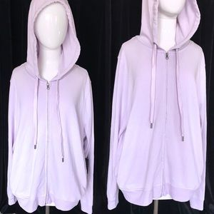 188bdc66bf4 Forever 21 Sweaters - PLUS SIZE lavender zip up hoodie 💜